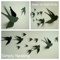 2018 Popular Flying Birds Metal Wall Art