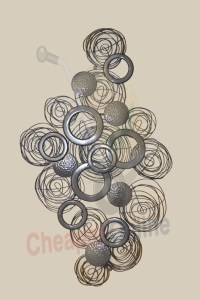 20 Collection of 3D Circle Wall Art