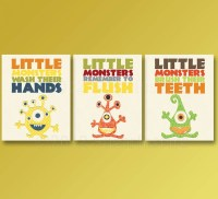 20 The Best Kids Bathroom Wall Art