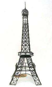 2018 Popular Metal Eiffel Tower Wall Art