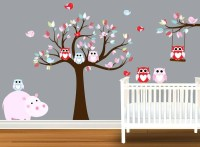 15 Best Ideas of Owl Wall Art Stickers