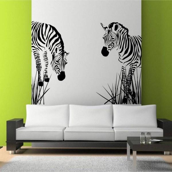 Metal Wall Art Living Room Idea