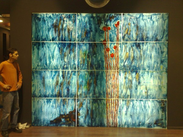 Modern Stained Glass Wall Art