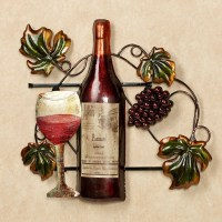 20 Best Collection of Wine Metal Wall Art