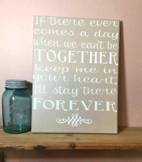 20 Inspirations of Diy Canvas Wall Art Quotes