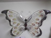 25 Collection of Large Metal Butterfly Wall Art