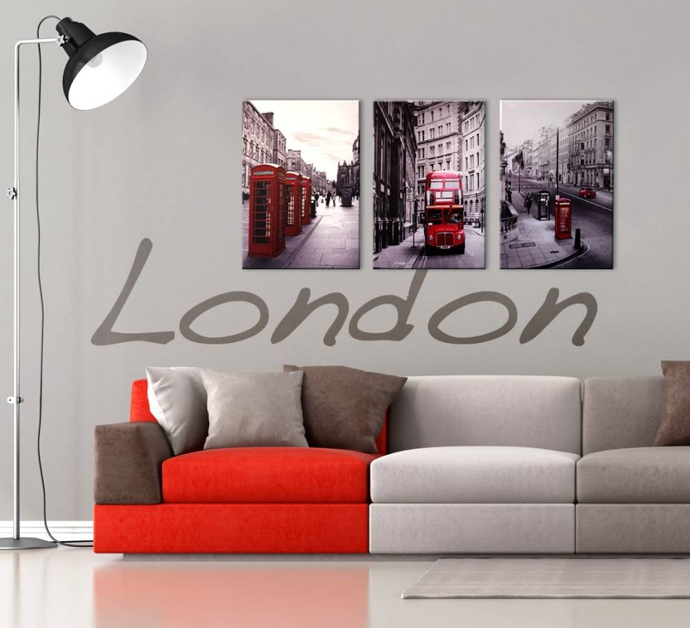 20 Inspirations of Black White And Red Wall Art