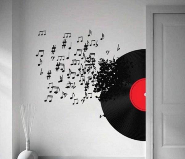 Music Note Wall Art Ideas