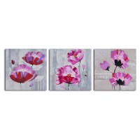 The Best 3 Piece Floral Canvas Wall Art