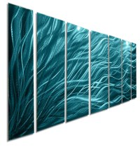20 Photos Large Abstract Metal Wall Art