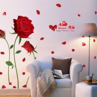 2018 Best of Red Rose Wall Art