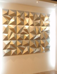 20 Best Ideas of 3D Wall Panels Wall Art