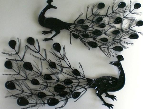 Inspirations Of Metal Peacock Wall Art