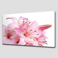 20 Inspirations of Pink Flower Wall Art