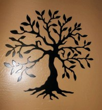 20 Ideas of Wrought Iron Tree Wall Art