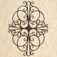 30 Inspirations of Faux Wrought Iron Wall Art