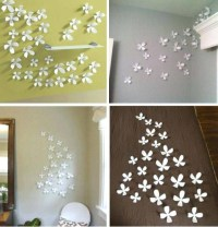 20 Best Ideas of 3D Flower Wall Art