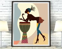 Best 30+ of African Metal Wall Art