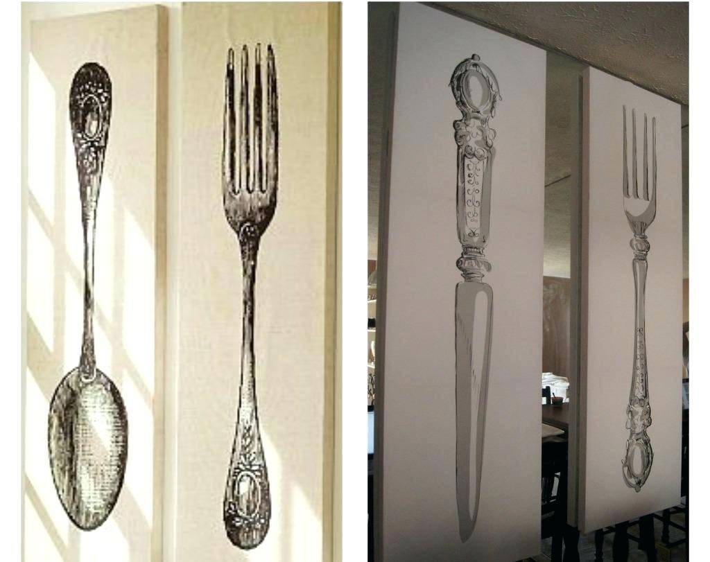 30 Ideas of Big Spoon And Fork Wall Decor