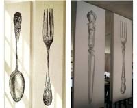 Fork Spoon Wall Art