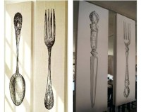 Fork Spoon Wall Art - Home Ideas