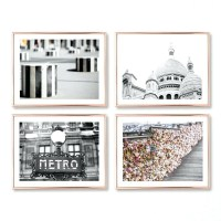 30 Collection of Paris Theme Wall Art