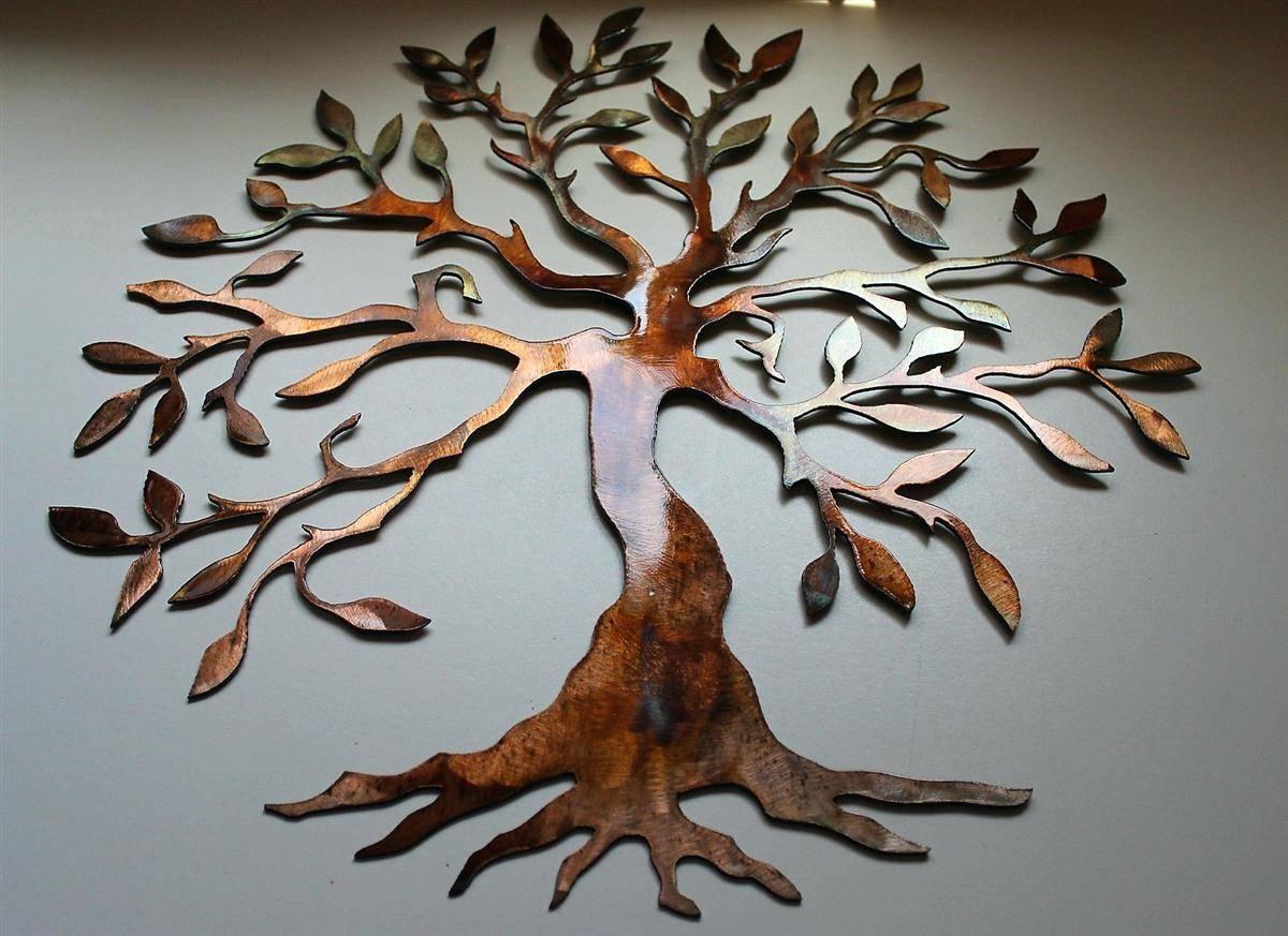 2019 Latest Kohls Metal Tree Wall Art