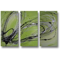 Best 20+ of Lime Green Metal Wall Art