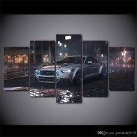 20 Collection of Ford Mustang Metal Wall Art