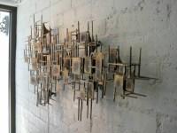Modern Metal Wall Art - ideasplataforma.com