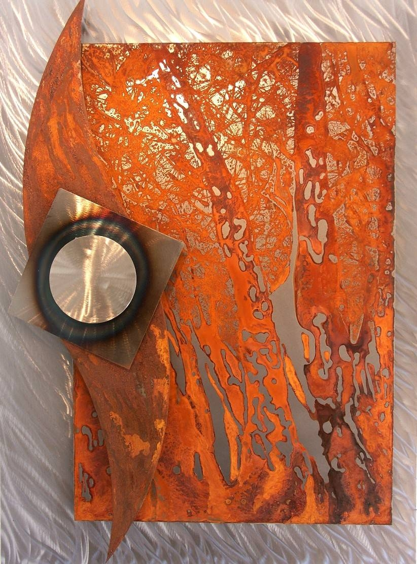 image gallery of rusted metal wall art view of photos