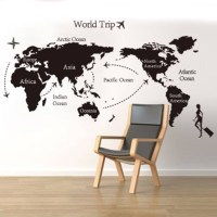 20 Collection of Travel Map Wall Art
