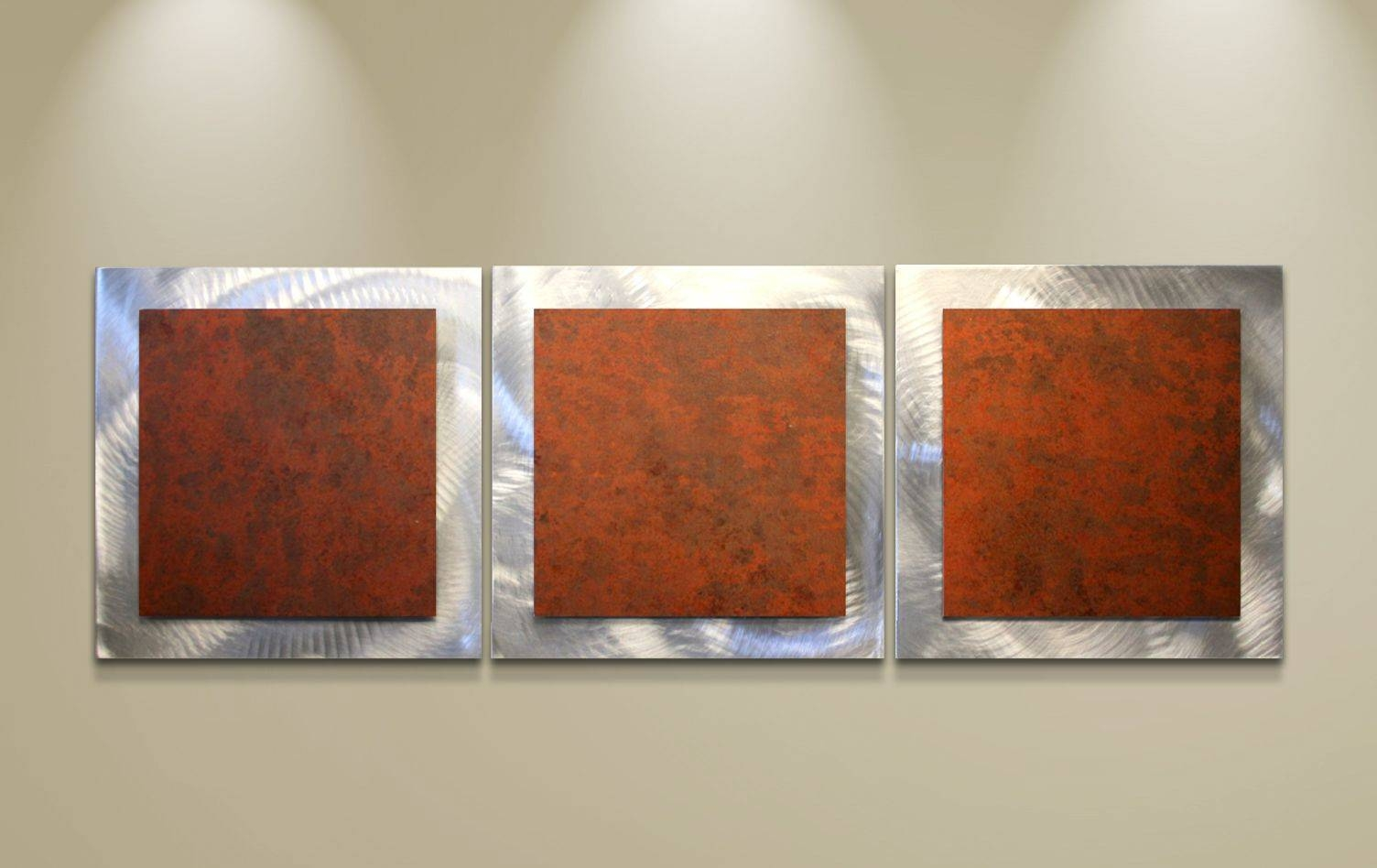best collection of rusted metal wall art