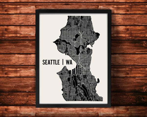 20 Seattle Map Wall Art Pictures And Ideas On Meta Networks