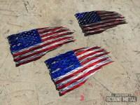 20 The Best American Flag Metal Wall Art