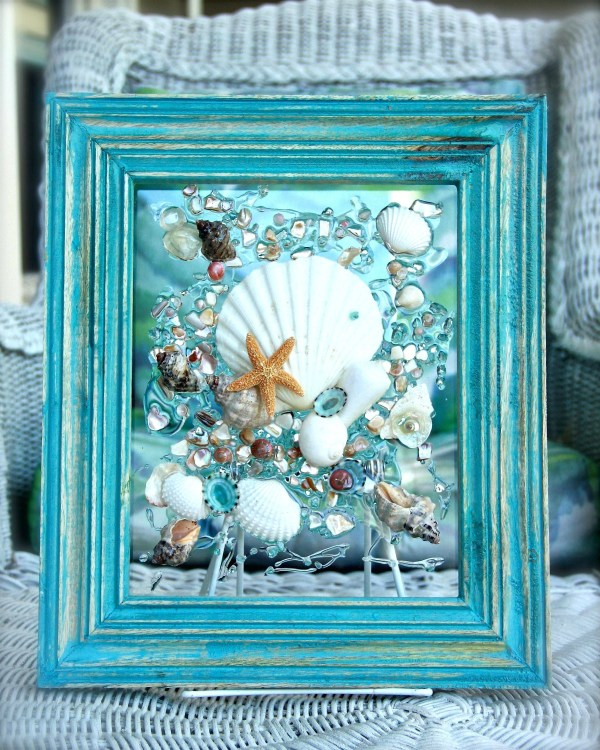Seashell Wall Hanging Art