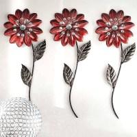 20 Photos Flower Metal Wall Art Decor