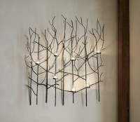 Top 20 of Metal Wall Art With Candles