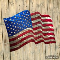 20 The Best American Flag Metal Wall Art