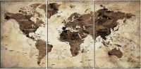 20 Ideas of Old Map Wall Art