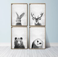 2018 Best of Animal Wall Art Canvas