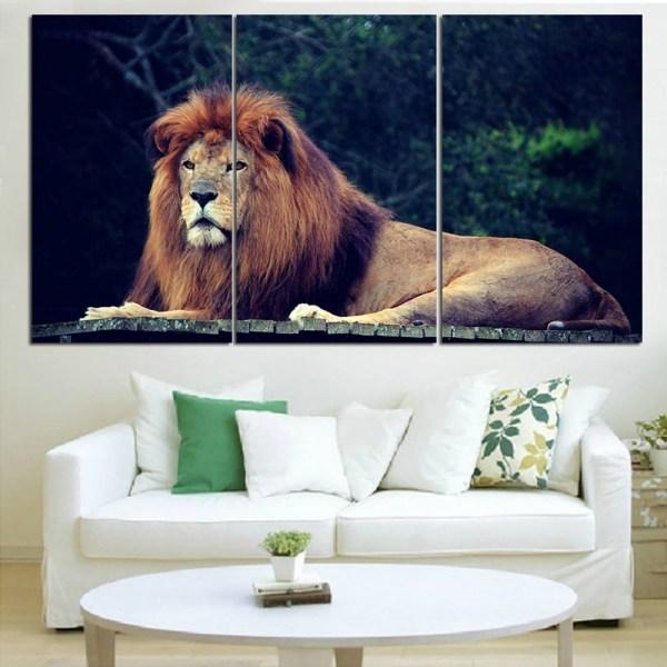 Jungle Animal Canvas Wall Art
