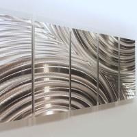 2018 Latest Abstract Aluminium Wall Art