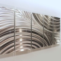 2018 Latest Abstract Aluminium Wall Art