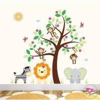 20 Collection of Jungle Animal Wall Art