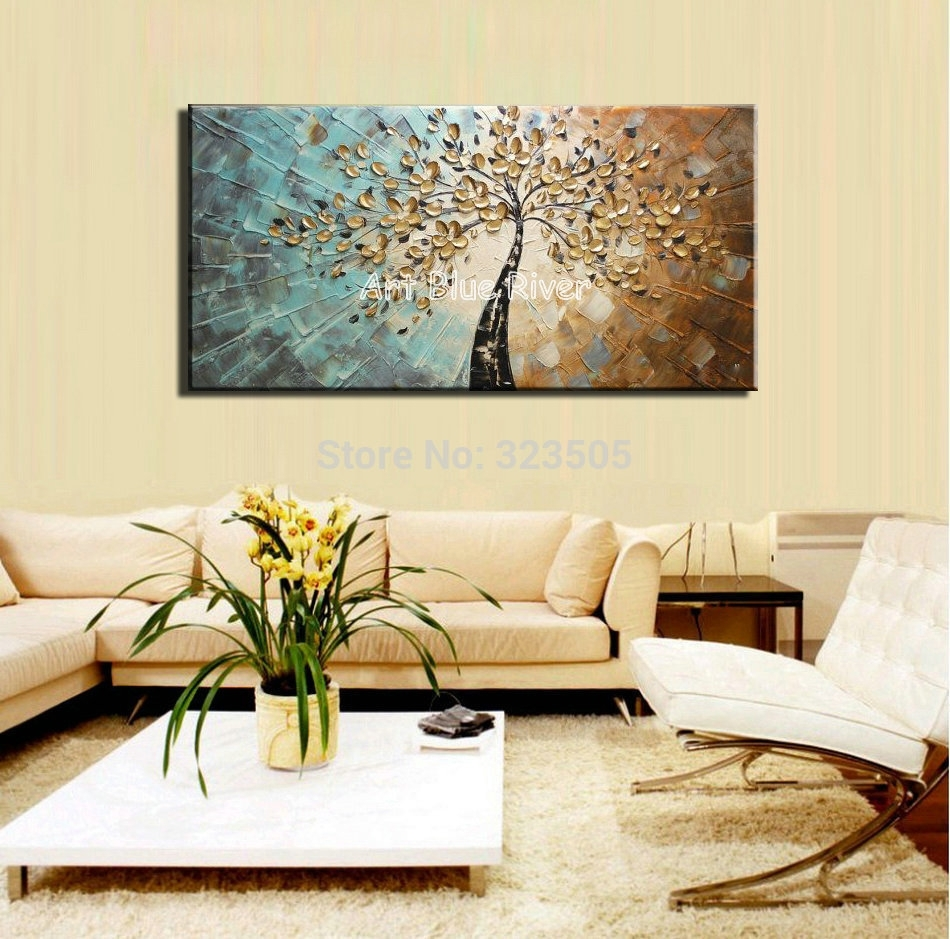 2019 Best of Abstract Wall Art Living Room