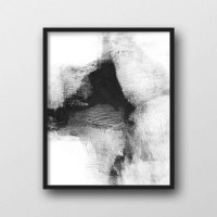 Showing Gallery of Black And White Abstract Wall Art (View ...