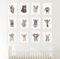 20 Ideas of Baby Animal Wall Art