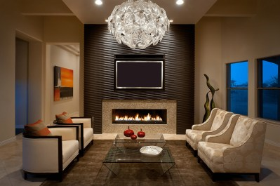 15 Best Collection of Wallpaper Living Room Wall Accents