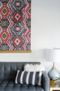 2018 Popular Diy Large Fabric Wall Art